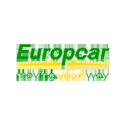 Logo du loueur de voiture Europcar